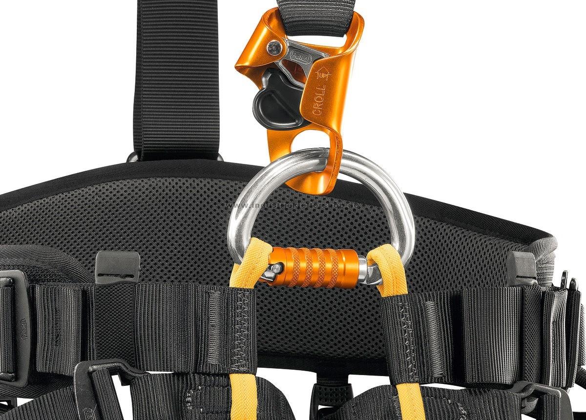 Klettergurt Mit Brustgurt : Petzl falcon ascent klettergurt im industrieklettershop