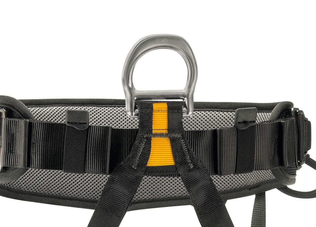 Klettergurt Industrie : Petzl falcon schwarz sitzgurt im industrieklettershop