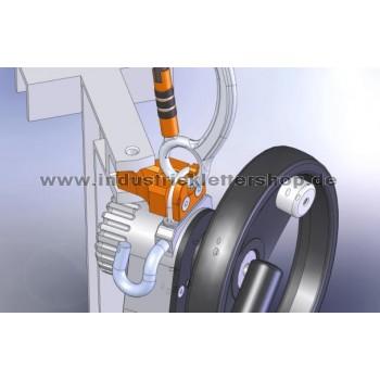 SafEscape ELITE™ Hub - mit Leiteradapter -  130m Seil