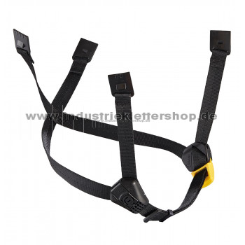 Dual-Kinnband  gelb/schwarz - Standard