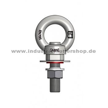 ABS Lock III3 R - rotierender Anschlagpunkt für Stahl - M16