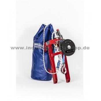 Rettungshub - RG60 - Rettungsset inkl. Abseilgerät MRG9 easy