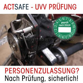 UVV PRÜFUNG PME 4S Personenzulassung