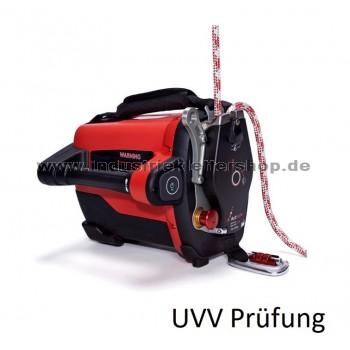 UVV jährliche Prüfung Seilwinde - ACX