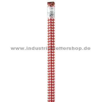 Industry - 11 mm - lfm - rot weiss - Actsafe geeignet