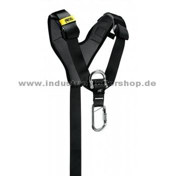 Top - Brustgurt - AVAO - schwarz/gelb