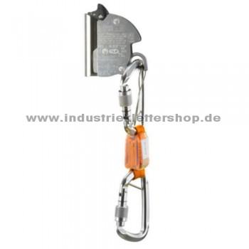 SKC Kit + Auffanggerät mit kompaktem Bandfalldämpfer - Stahlseil 8 mm