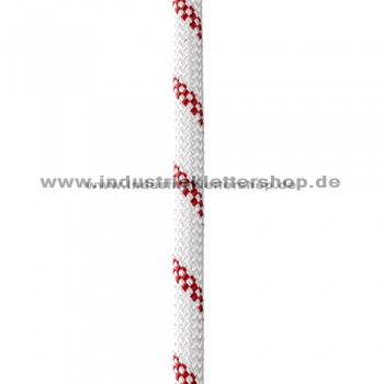Static Low Stretch - 10,5 mm - weiß/rot - Kletterseil