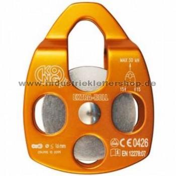 Extra Roll - Seilrolle in orange