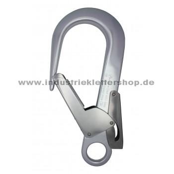 Firehook - 60 mm - Rohrkarabiner- Silber