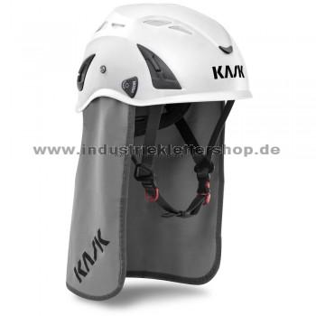 Nacken-Sonnenschutz für Plasma Helme - grau