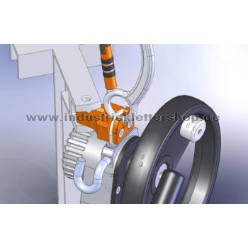 SafEscape ELITE™ Hub - Leiteradapter - 20m Seil
