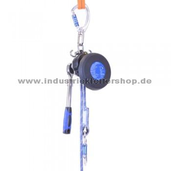 MRG9 Easy+  kompaktes Abseil- und Rettungsgerät mit Ratsche - max. 160 m