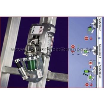 MultiSafe Fallschutzläufer Typ 0529.74.50 - Öffnungsmechanismus