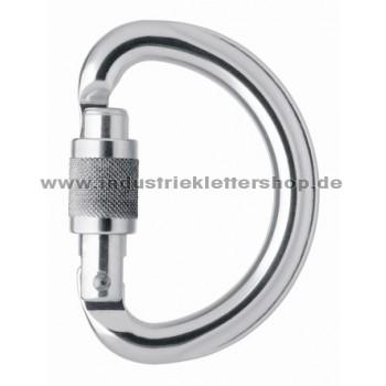 Omni Screw Lock -silber - Schraubkarabiner