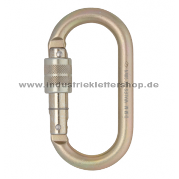 Oval Range - Stainless Steel Screwgate - Schrauber
