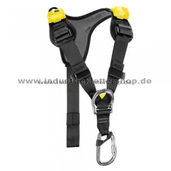 Top Brustgurt - AVAO - schwarz/gelb