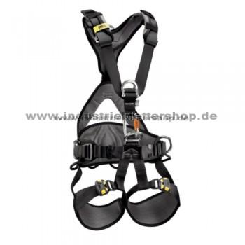 Avao Bod Fast - Auffanggurt - intern. Ausführung - schwarz/gelb - Gr. 0