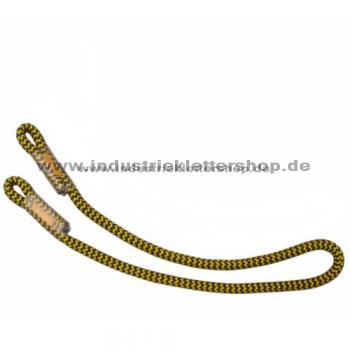 Prusikschlinge - 10 mm - 80 cm - gelb / schwarz