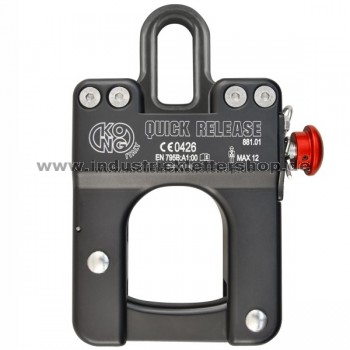Quick Release QRK - Trennkarabiner - geschlossen klein