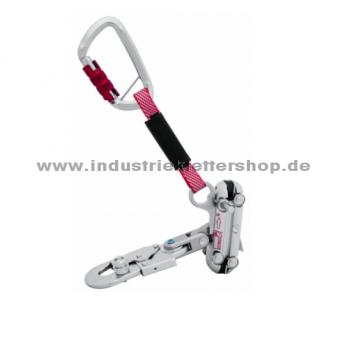 RAILSTOP RS S05 Auffanggerät - Twistlock Plus Karabiner