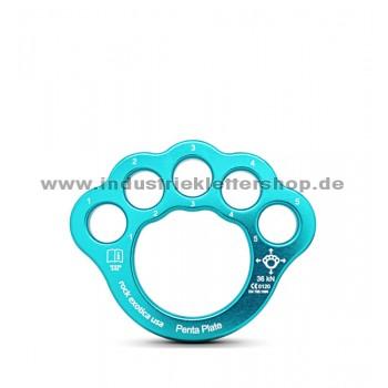 Pentaplate - Riggingplatte - mittel - blau