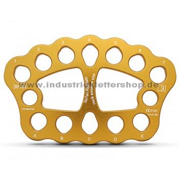 Se7en - Riggingplatte - groß - gold