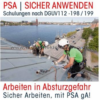 Anwenderschulung PSA gegen Absturz