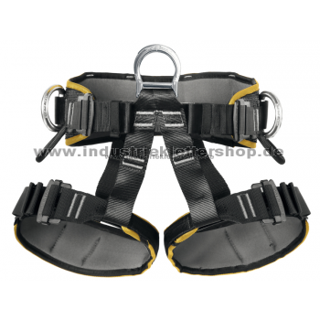 Sit Worker III - Easy Lock - S - gelb/schwarz