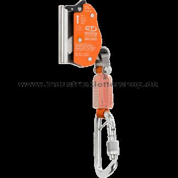 SKC EVO Steigschutzläufer inkl. Falldämpfer - Stahlseil 8 mm