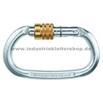 Steel Oval - Stahl - Schraubkarabiner