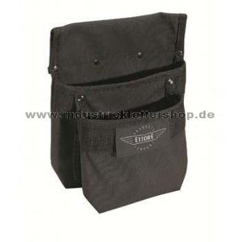 Ettore Tasche mit zwei Fächern - Gürteltasche