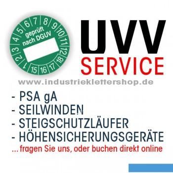 PSA Prüfung UVV im Industrieklettershop.de