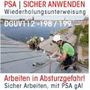 PSA wiederholungsunterweisung Arbeiten in Absturzgefahr petzl bild suesges