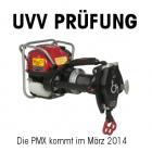 UVV jährliche Prüfung Seilwinde - PMX