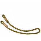 Prusikschlinge - 10 mm - gelb / schwarz