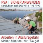 PSAgA Unterweisung - Grundkurs - DGUV112-R198/199