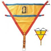Rettungsdreieck - verstellbare Schulterbänder